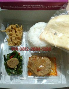 0812-2684-1283 Menu Nasi Box di Jogjakarta dengan Packaging yang Unik