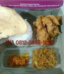 0812-2684-1283 Catering Nasi Box di Yogyakarta dengan Box yang Unik