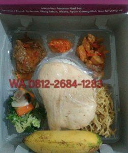 0812-2684-1283 Menu Nasi Kotak di Yogyakarta dengan Dus yang Elegan